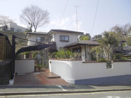 茨城県 日立市 I様邸 外壁塗装・屋根塗装リフォーム前