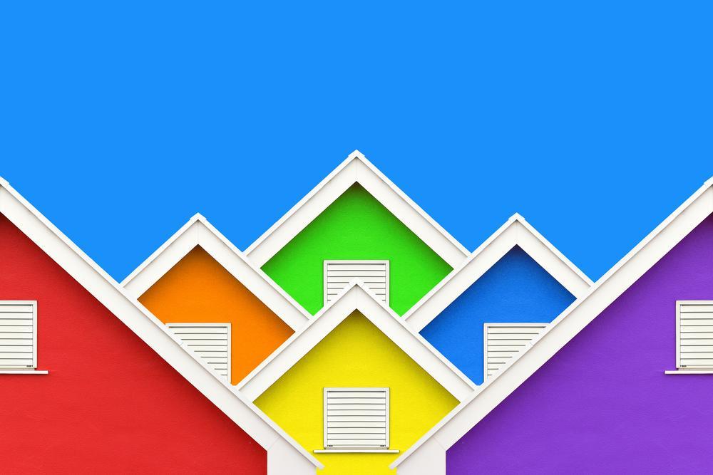 屋根イラストイメージ画像